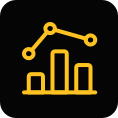 analytics strategies icon