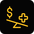health insurance and reimbursement icon