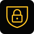 information and cybersecurity foundations icon