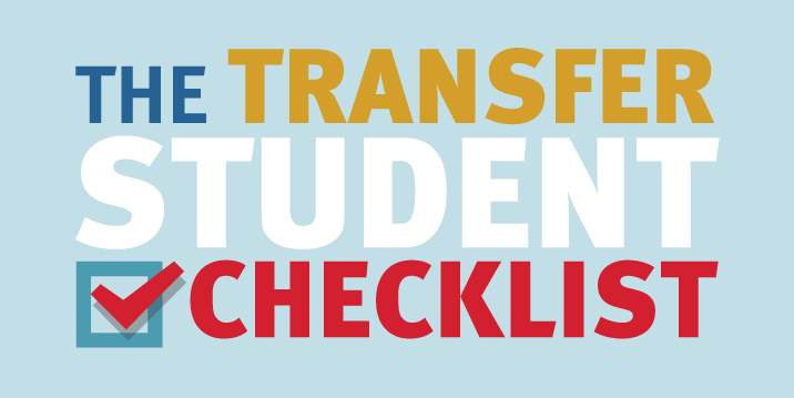 The Transfer Student Checklist