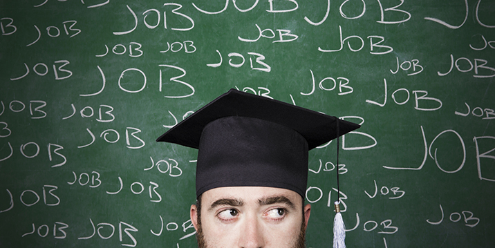 Job search tips for graduates.