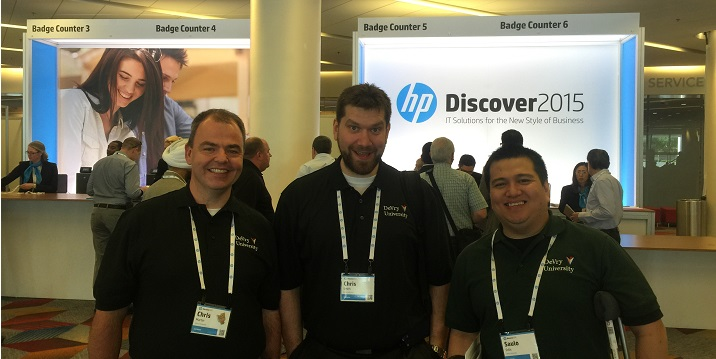 Students Explore New Tech at HP Discover