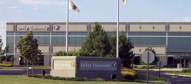 DeVry University Tinley Park Campus